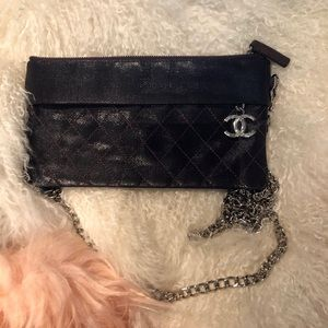 🦋Chanel Clutch Wallet With Chain 🦋